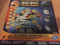 Angry Birds Star Wars Millenium Falcon Bounce Game