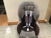Washed and cleaned Britax Freeway car seat for 9mths to 4yrs(9kg-18kg child weight)-£30