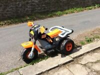 ELECTRIC RIDE ON ACTION MAN MOTORBIKE X 2