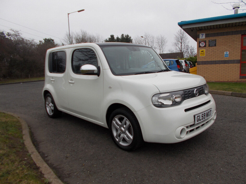 Nissan 2010 nissan cube : NISSAN CUBE KAIZEN TOP OF THE RANGE WHITE 2010 ONLY 46K MILES ...