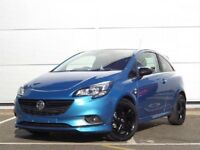 2016 BLUE VAUXHALL CORSA LIMITED EDITION ONLY 4000miles