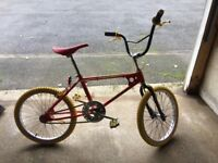 Raleigh Burner BMX Mk1 1982-3 for sale in mint condition - free local delivery