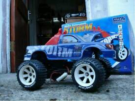 NIKKO STORM MONSTER TRUCK 1:12 SCALE BRUSHLESS 1:10 BIG RADIO REMOTE CONTROLL