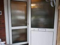 Double glazing front door