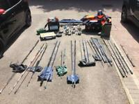 Sea Fishing Gear - Poles, reels and other misc equipment