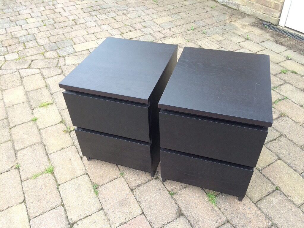 Two Bedside Cabinets 163 10 Each Or 2 For 163 15 In Bury St
