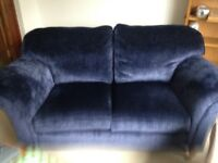 Laura Ashley Mortimer Sofa - Midnight Blue - open to sensible offers