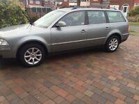 VW Passat alloy wheels and Michelin tyres alloys