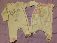 Baby Girl Clothes Bundle First Size