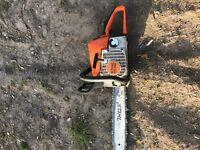 Stihl chainsaw 18inch