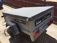 Daxara 147 tipper trailer with cover for sale - PRICED LOW