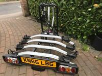 Witter ZX404 Bike Carrier Tow Bar 4 full size bikes