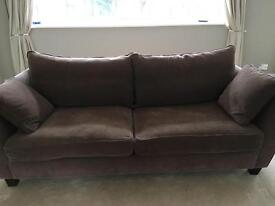 Large two seater sofa by heals