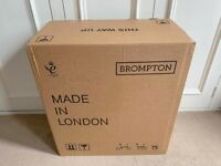 WANTED!! BROMPTON BOXES REQUIRED