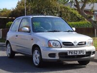 Nissan Micra 1.0 16v Tempest 3dr£699 p/x welcome 2 OWNERS,FULL SERVICE,FULL MOT