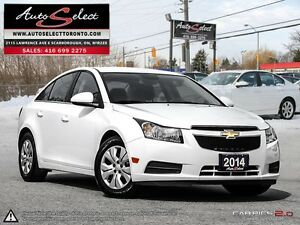2014 Chevrolet Cruze ONLY 83K! **BACK-UP CAMERA** CLEAN CARPROOF