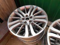 "4 Range Rover 20"" Wheel Rims - - £90 - - -"