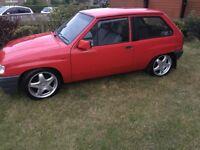 Vauxhall nova px swap civic type r gsi