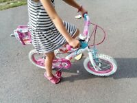 GIRLS BIKE FOR 3-6YRS OLD'S