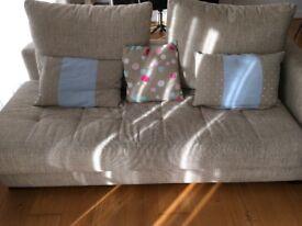 Two sofa sets