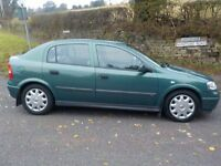 2001 Vauxhall Astra Club 1.6 Petrol Rare Sunroof Model 1 Owner from New Service History, HPI Clear