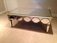 EX SHOW HOME COFFEE TABLE