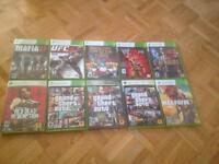 XBOX 360 GAMES ANY 5 FOR $20 OR EVERYTHING FOR $40