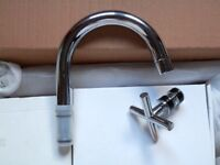 PE305 Mono Basin Mixer Small Spout