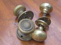 Brass Door Knobs