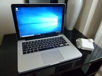 "13.3"" Intel Core Apple MacBook Pro Unibody Mac OSX El Capitan 10.11 Windows 10 - Fully Loaded"
