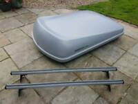 Roofbox and roof bars