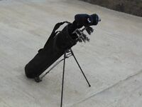 Forgan P2i Golf Set in excellent condition, rarely used, plus trolley