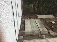 Concrete steps x 6