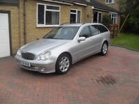 Mercedes C320 estate. All the refinements of Mercedes- sat nav, bluetooth 6 cd changer etc
