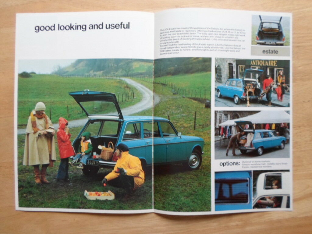 French Diesel: 1968 Peugeot 204 Estate