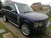 """Range Rover USE TD6 Auto 3.0L 2002 Full Leather,22"""" overfinch alloys"""