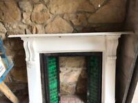 Fireplace and Back Boiler