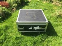 Flight Case For Sale Great Condition and has Wheels for easy transportation of Goods
