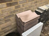 Roof tiles, 28 new tiles - free