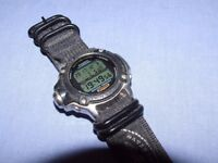 Casio diving watch. Twin sensor for depth and water temperature.