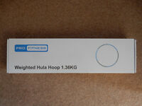 Weighted Hoola Hoop - brand new in box