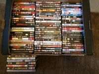 DVD films, over 80 in total, various titles