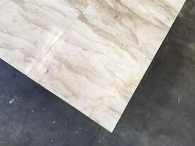 Crema Marfil select marble tiles 600x600x20mm total 50m2 joblot