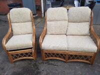 Conservatory Furniture Set Sofa Chair Garden Patio FREE MANCHESTER DELIVERY