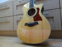 Taylor 412RCE (Rosewood) Limited Edition acoustic guitar with Expression System and original case