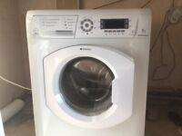 Hotpoint Washing Machine 9kg. 1600 spin cycle USED