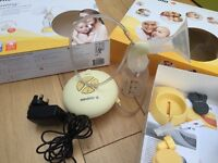 Medela swing electric breast pump (single). Hardly used, great condition.