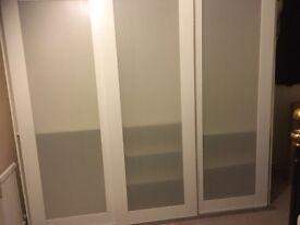 IKEA PAX 3 sliding door wardrobe