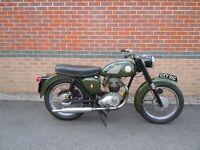 BSA B40 MOTORCYCLE