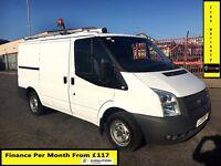 Ford Transit Van 2.2 300-1 Owner Ex BT- FSH 5 Stamps -1YR MOT- 41K Miles -Parking Sensors - WARRANTY